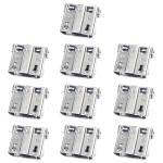 10 PCS Charging Port Connector for Galaxy S4 / E250S / E250K / E300S / E300L / S4 Zoom SM-C101