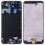 Front Housing LCD Frame Bezel Plate for Galaxy A20 SM-A205F/DS, A205FN, A205GN/DS, A205YN, A205G/DS(Black)