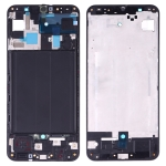 Front Housing LCD Frame Bezel Plate for Galaxy A50 SM-A505F/DS, A505FN/DS, A505GN/DS, A505FM/DS, A505YN (Black)
