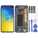 LCD Screen and Digitizer Full Assembly with Frame for Galaxy S10e (Black)