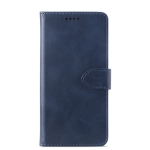 Calf Texture Horizontal Flip Leather Case for Samsung Galaxy A7 (2018)/A750 , with Holder & Card Slots & Wallet(Blue)