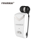 Fineblue F-V2 Bluetooth 4.1 Wireless Stereo Bluetooth In-Ear Earphone Mini Headset for iPhone Samsung tablet Bluetooth F-V2 White