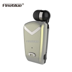 Fineblue F-V2 Bluetooth 4.1 Wireless Stereo Bluetooth In-Ear Earphone Mini Headset for iPhone Samsung tablet Bluetooth F-V2 Gold