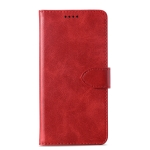 Calf Texture Horizontal Flip Leather Case for Doogee X55, with Holder & Card Slots & Wallet(Red)