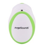 JPD-100S Mini Household Fetal Doppler Prenatal Pocket Baby Ultrasound Detector Angel Sound Heartbeat Pregnant Doppler Monitor(Green)