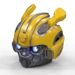 5.0 Bluetooth Speaker, Bumblebee Cartoon Speaker, Support TF, FM Function, Metal Material