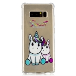 Oil Embossed Pattern TPU Protective Case for Galaxy Note 8(Sweet)