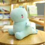 30-60CM Dinosaur Plush Toys Cute Stuffed Soft Animal Doll for Baby Kids Cartoon Toy Classic Gift(blue)