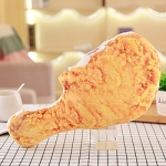 Snack Food Pillows Beer Fried Chicken Snack Pillow Plush Toy Doll Decorative Pillow(S Drumstick)