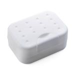 2 PCS Portable Travel Soap Box(White)