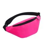 Unisex Waterproof Waist Pack Belly Bags Purse(Pink)