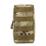 2 PCS Sports 600D Nylon MOLLE Pouch Bag Tactical Utility Bags Gadget Waist Pack Outdoor Equipment(CP)