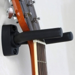 Metal Wall Hook for Guitar / Ukulele(Black)