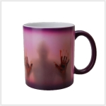 The Walking Dead Mug Color Changing Heat Sensitive Ceramic Coffee Mug 301-400ml(Purple)