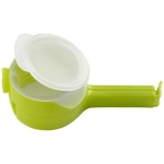 2 PCS Food Snack Storage Seal Sealing Pour Bag Clips Sealer(Green)