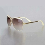 Sunglasses Women Fashion Retro Sun Glasses for Women Vintage Lady Summer Style Sunglasses(Lvory white)