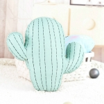 Cartoon Simulation Cactus Pillow Creative Nordic Fresh Fire Cloud Cushion Removable And Washable Cack Birthday Gift(Cactus-S)