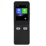 T9+ Portable WIFI Smart Voice Translator Smart Business Travel Real Time AI Translator Translation Machine 27 Languages Translator (Black)