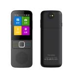 T10 Portable WIFI Smart Voice Translator Smart Business Travel Real Time AI Translator Translation Machine 27 Languages Translator (Black)