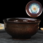 Kiln Transmutation Kongfu Bowl Ceramic Tea Cup, 04, Capacity: 140ml, Size: Large, 8.4×4.4cm