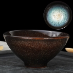 Kiln Transmutation Kongfu Bowl Ceramic Tea Cup, 05, Capacity: 120ml, Size: Large, 8.9×4.4cm