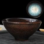 Kiln Transmutation Kongfu Bowl Ceramic Tea Cup, 05, Capacity: 120ml, Size: Large, 8.9×4.4cm