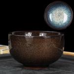 Kiln Transmutation Kongfu Bowl Ceramic Tea Cup, 07, Capacity: 200ml, Size: Large, 8.8×5.1cm