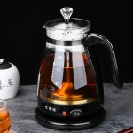Automatic Insulation Glass Electric Kettle Steam Teapot Tea Maker (No Handle Cup)