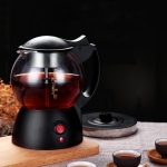Automatic Glass Electric Kettle Steaming Teapot