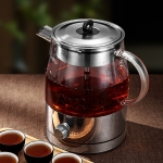 Household Glass Automatic Steam Electric Kettle Cooking Teapot