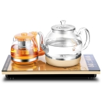 Automatic Bottom Self-suction Type Electromagnetic Tea Stove On The Bottom of The Kettle Household Intelligent Pumping Type Tea Set (Bottom Teapot)