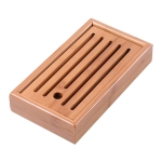 Bamboo Hollow Retain Water Tea Tray, Size: 22 x 12 x 4cm