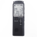 T60 Monochrome Screen HD Noise Reduction Digital Voice Recorder, 16G, Support MP3 / WAV Format (Black)