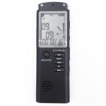 T60 Monochrome Screen HD Noise Reduction Digital Voice Recorder, 16G, Support MP3 / WAV Format (Black)
