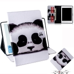 Panda Pattern Horizontal Flip Leather Case for Amazon Kindle Paperwhite 4 (2018) / 3 / 2 / 1, with Holder & Card Slot & Wallet