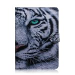 Tiger Pattern Horizontal Flip Leather Case for Amazon Kindle Paperwhite 4 (2018) / 3 / 2 / 1, with Holder & Card Slot & Wallet