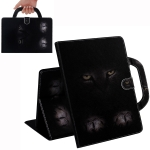 Cat Pattern Horizontal Flip Leather Case for Huawei MediaPad T5, with Holder & Card Slot & Wallet