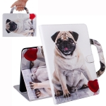 Pug Pattern Horizontal Flip Leather Case for Huawei MediaPad M5 Lite 8 / Honor Tab 5, with Holder & Card Slot & Wallet