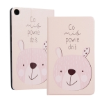 Rabbit Pattern Universal Spring Texture TPU Protective Case for for Huawei Honor Tab 5 8 inch / Mediapad M5 Lite 8 inch, with Holder