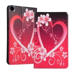 Love Pattern Universal Spring Texture TPU Protective Case for for Huawei Honor Tab 5 8 inch / Mediapad M5 Lite 8 inch, with Holder