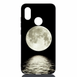 Moon Painted Pattern Soft TPU Case for Xiaomi Mi 8