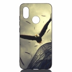 Eagle Painted Pattern Soft TPU Case for Xiaomi Mi 8