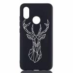 Elk Painted Pattern Soft TPU Case for Xiaomi Mi 8