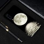Moon Painted Pattern Soft TPU Case for Xiaomi Mi 9