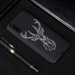 Elk Painted Pattern Soft TPU Case for Xiaomi Mi 9