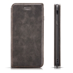 Retro Simple Ultra-thin Magnetic Horizontal Flip Leather Case for Xiaomi Redmi K20 / Redmi K20 Pro, with Holder & Card Slots & Lanyard (Black)