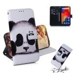 Panda Pattern Coloured Drawing Horizontal Flip Leather Case for Xiaomi Redmi Note 6 / Redmi Note 6 Pro, with Holder & Card Slots & Wallet