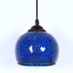 Vintage Glass pendant Lamp Decoration Lamp Resident lamp wall lamp For Restaurant Bar Cafe Loft Bedroom (Blue)