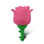 MicroDrive 128GB USB 2.0 Creative Rose U Disk (Pink)