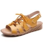 Fashion Straps Comfortable Breathable Women Sandals (Color:Orange Size:36)